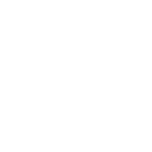 White icon of a hand holding a mobile with a location marker on the screen to indicate the address and location of this dentist in Fargo, ND